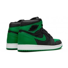 NIKE AIR JORDAN RETRO 1 HIGH BLACK GREEN