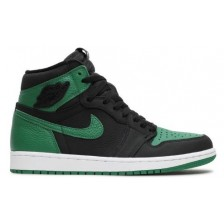 NIKE AIR JORDAN RETRO 1 HIGH BLACK GREEN (ЗЕЛЕНЫЕ С ЧЕРНЫМ)
