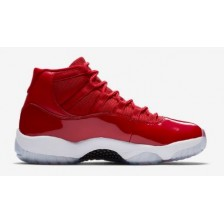 NIKE AIR JORDAN RETRO 11 HIGH RED & WHITE