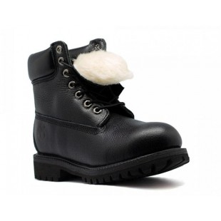 Timberland Black Leather women's