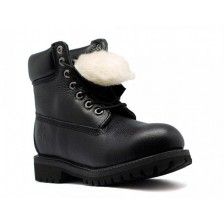 Timberland Black Leather men's