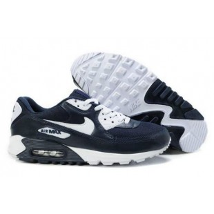 Nike Air Max 90 Mens Dark blue / White 120