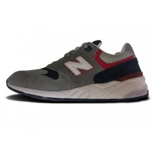 New Balance Mens 999 Grey / Red 319